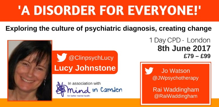 A Disorder For Everyone - London 8th June 2017