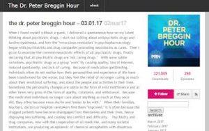 Dr Peter Breggin hour