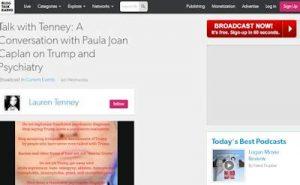 Paula Joan Caplan - Trump & Psychiatry