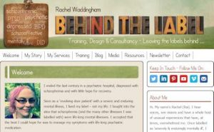 Rachel Waddingham - behind the label