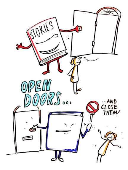 stories-counselling-open-doors-close-doors