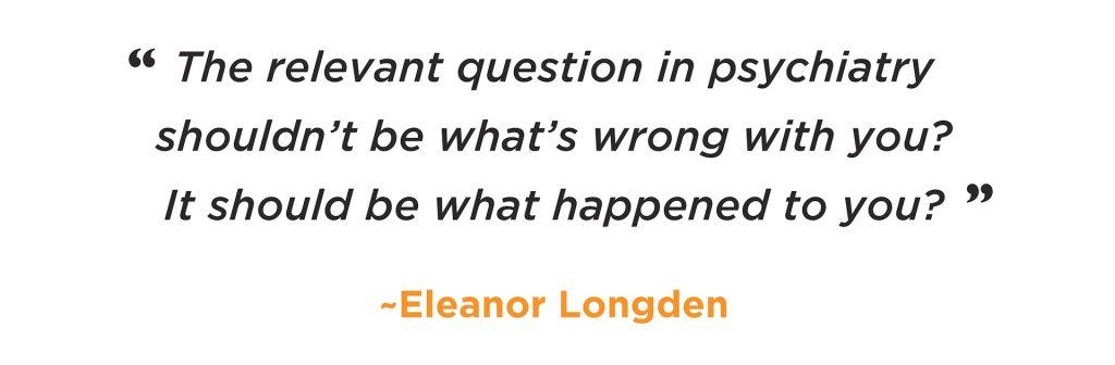 The relevant question - Eleanor Longden