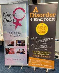 Drop The Disorder Roll Up Banners