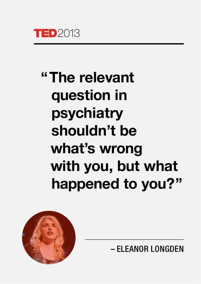Ted 2013 Eleanor Longden quote